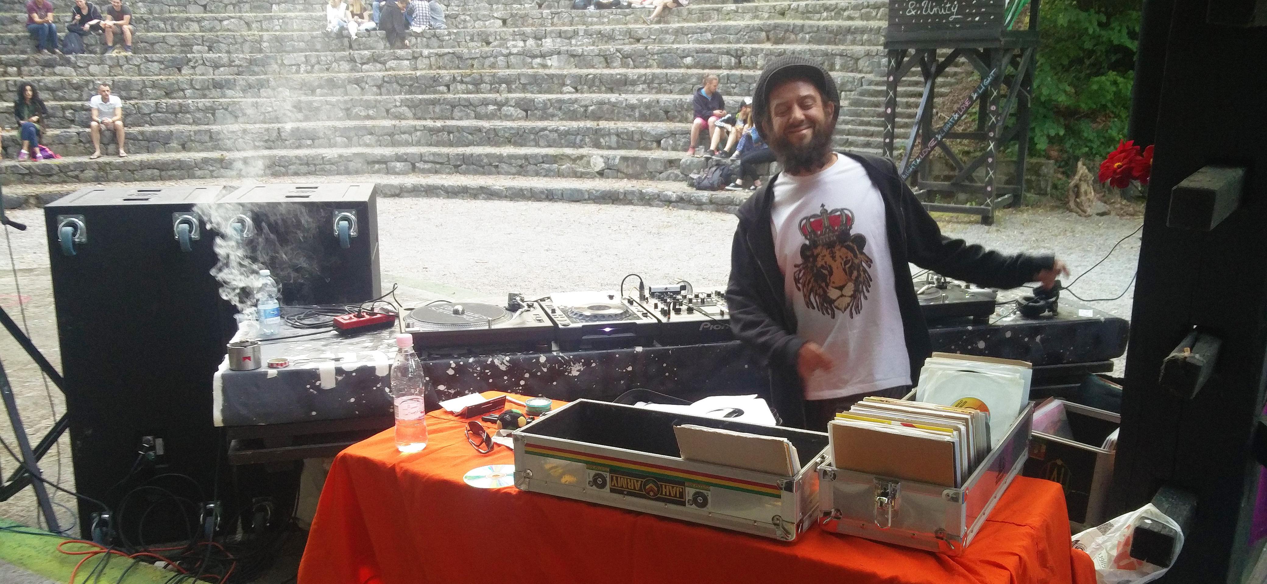 Ziggi Mastah in Reggae Garden