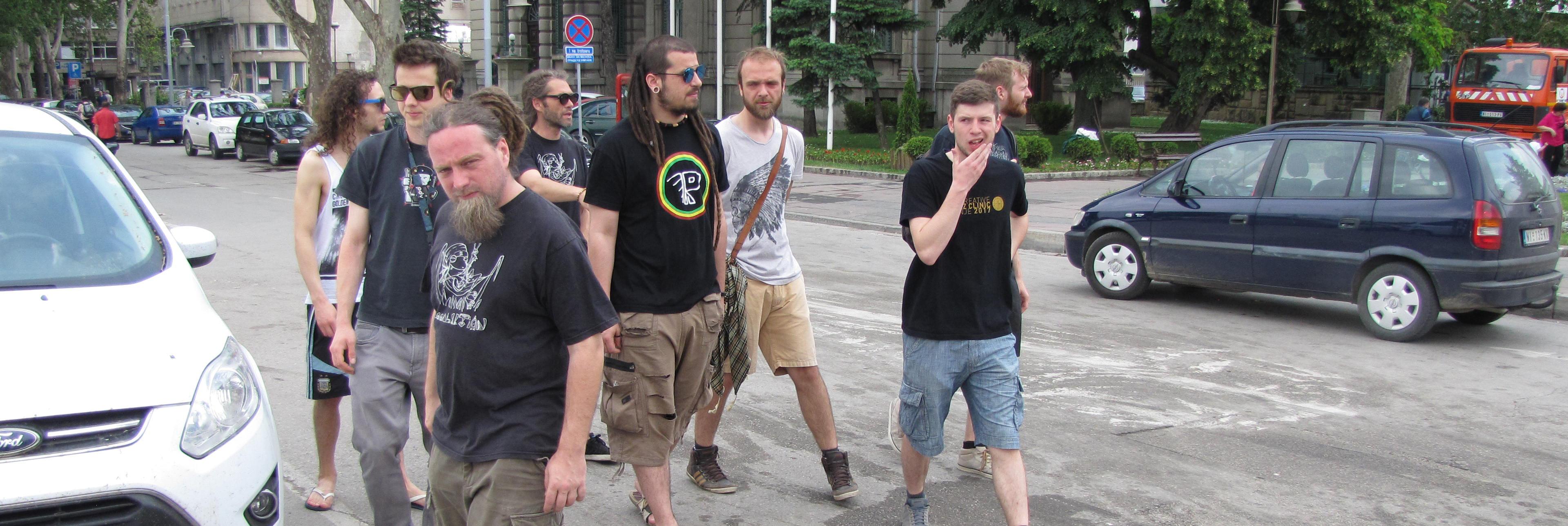 Raggalution in Kragujevac